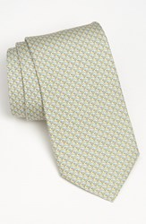 Men's Vineyard Vines 'Whale' Silk Tie Yellow