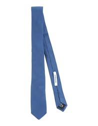 Mauro Grifoni Accessories Ties Men Slate Blue