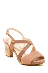 Rockport Cross Band Slingback Sandal Wide Width Available Beige