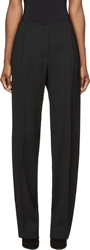 Cedric Charlier Black Wide Leg Trousers