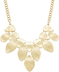 Styleandco. Style And Co. Gold Tone Bib Necklace Only At Macy's