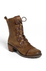 Women's Pikolinos 'Le Mans' Laced Boot 2' Heel