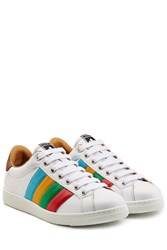 Dsquared2 Leather Tennis Club Sneakers White