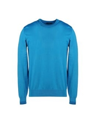 Edward Spiers Sweaters Turquoise