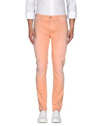0 Zero Construction Trousers Casual Trousers Men Salmon Pink