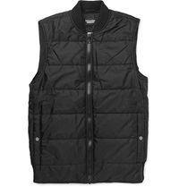 Christopher Raeburn Quilted Shell Gilet Black