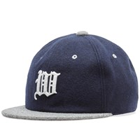 White Mountaineering Embroidered Baseball Cap Blue
