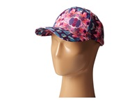 San Diego Hat Company Cth4089 Tropical Floral Print Ball Cap Orchid Caps Purple