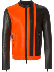 Dsquared2 Mandarin Collar Jacket Black