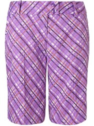 Callaway Atmosphere Plaid Short Purple