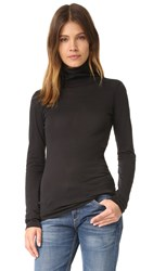 Rag And Bone Base Turtleneck Black