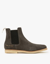 Common Projects Chelsea Boot Dark Grey Suede