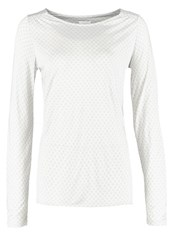 Opus Long Sleeved Top Flawless Ash Light Grey