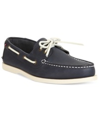 Tommy Hilfiger Bowman Boat Shoes Men's Shoes Navy