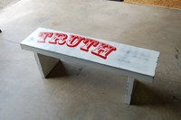 John Beck Paper And Steel Truth Bench