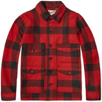 Filson Mackinaw Cruiser Jacket Red