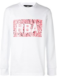 Hood By Air 'Meat Box' Sweatshirt White
