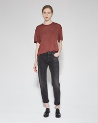 Acne Studios Row 32 Jean Black Crease