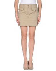 Dandg D And G Mini Skirts Khaki