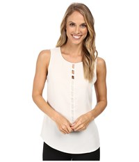 Nic Zoe Vertical Knot Top Rainy Day Women's Clothing Blue