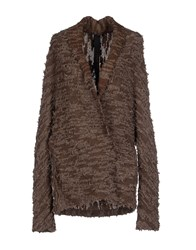 Forme D'expression Knitwear Cardigans Women Cocoa