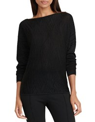 Lauren Ralph Lauren Boatneck Sweater Black