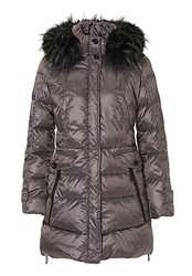 Betty Barclay Hooded Puffer Jacket Bronze