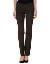 Peserico Sign Dress Pants Dark Brown