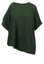 Only Onlsasha Print Tshirt Dark Green