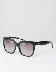 Ralph By Ralph Lauren Sunglasses With Polka Dot Detail Black