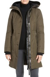 Mackage Women's Water Resistant Hooded Down Coat
