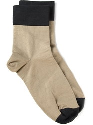 Isabel Marant 'Yona' Socks Nude And Neutrals