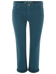 White Stuff Southern Ocean Slim Fit Cropped Jeans Empire Green