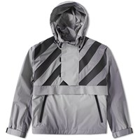 Moncler X Off White Donville Smock Grey