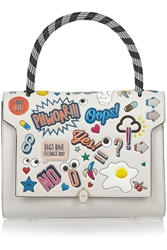 Anya Hindmarch Bathurst All Over Stickers Small Shoulder Bag