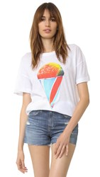 Wildfox Couture Brain Freeze Tee Clean White