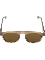 Mykita Round Sunglasses Brown