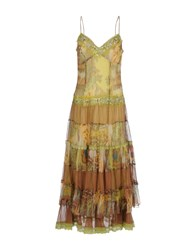 X's Milano Dresses Long Dresses Women Yellow