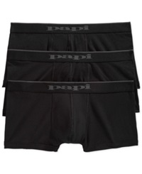 Papi Men's 3 Pack Brazilian Boxer Briefs Black Black Black