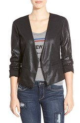 Junior Women's Frenchi Foiled Blazer
