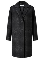 John Lewis Collection Weekend By Moxie Wool Car Coat Charcoal