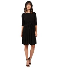 Adrianna Papell Velvet Burnout Party Dress Fit And Flare Black Women's Dress