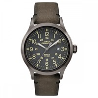 Timex Expedition Scout Watch Black And Black