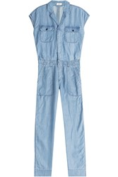 Closed Chambray Jumpsuit Blue