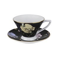 Ted Baker Rosie Lee Teacup And Saucer Black