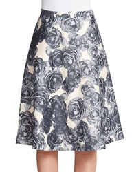 424 Fifth Floral Printed Circle Skirt Magnet