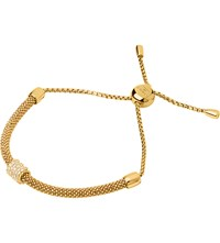 Links Of London Starlight 18Ct Yellow Gold Vermeil And Sapphire Bracelet