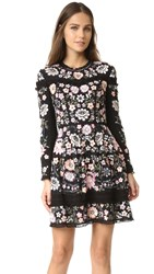 Needle And Thread Embroidery Lace Prom Dress Black