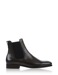 A.P.C. Ankle Boots Dark Brown