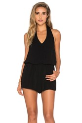 Bishop Young Halter Romper Black